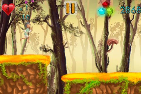 Run Granny Run - A Fun Jungle Adventure HD FREE screenshot 3