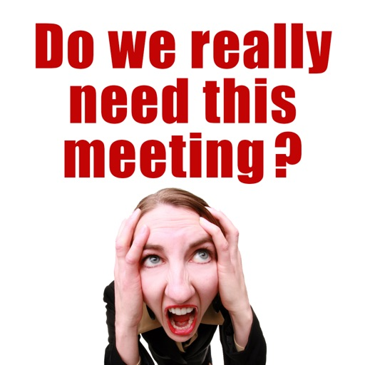Do We Really Need This Meeting?