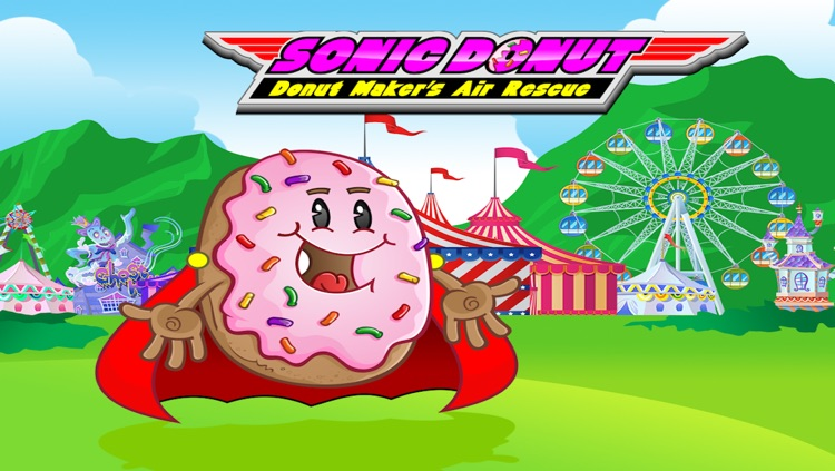 Sonic Donut Donut Maker's Air Rescue by Kris Copeland
