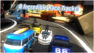 Screenshot from Table Top Racing