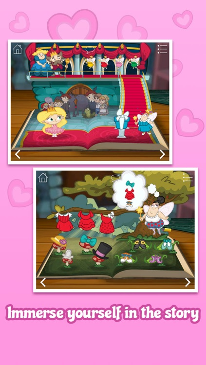 The Valentine's Princess Collection ~ Interactive Books, Jigsaws and Stickers screenshot-4
