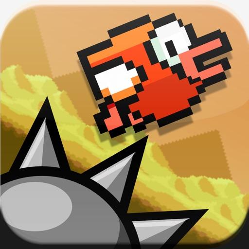 Flapping Cage: Избегайте шипов