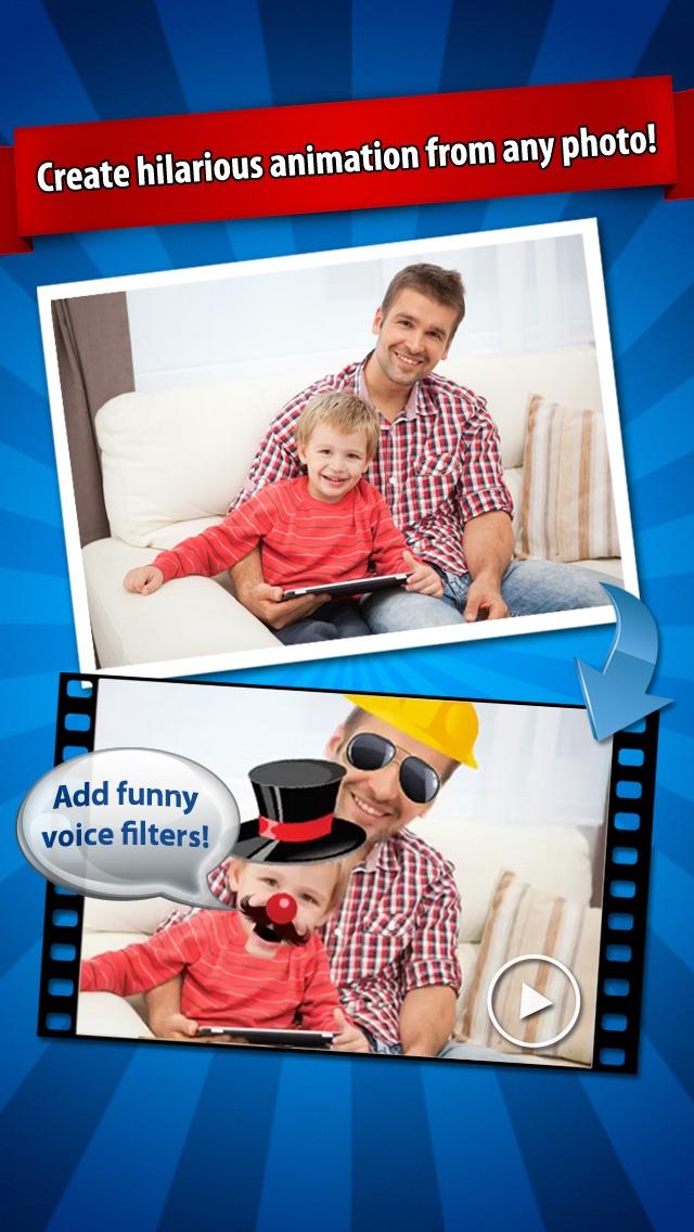 iFunFace Pro - Create Funny HD Videos From Photos, Fun FaceCaptura de pantalla de1