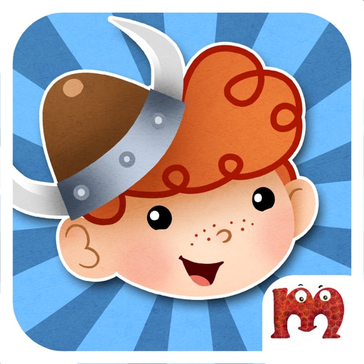 Viking Rudi - Cute Boy Becomes A Hero By Helping Others - EduGame For Toddlers