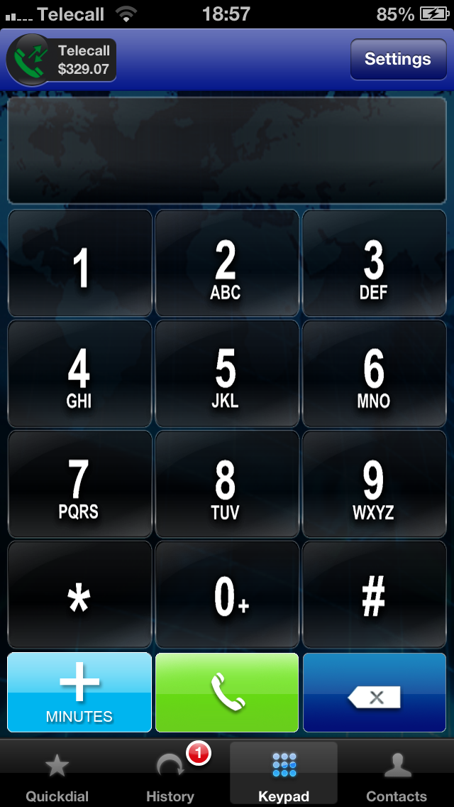 Telecall - Free calls, Free international calls and Virtual Numbers