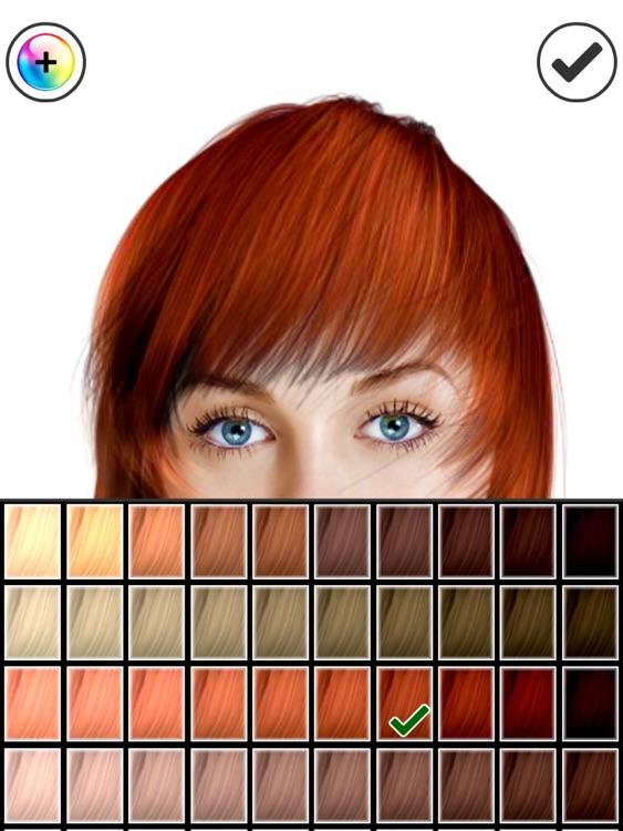 Hairstyle Magic Mirror HD screenshot-3
