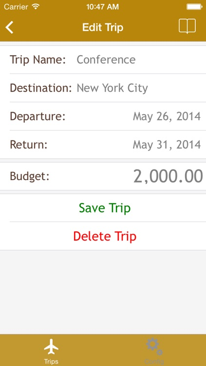 Trip Expenses - App to Track your travel expenses screenshot-4