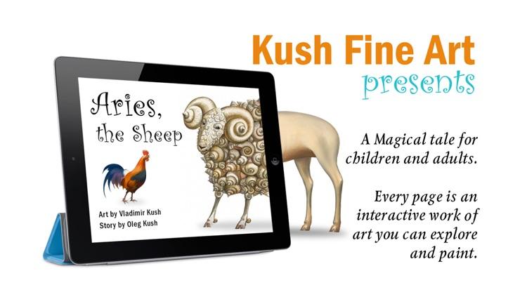 Aries the Sheep - Art by Vladimir Kush