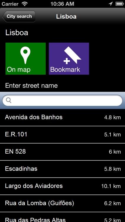 Offline Portugal Map - World Offline Maps screenshot-4
