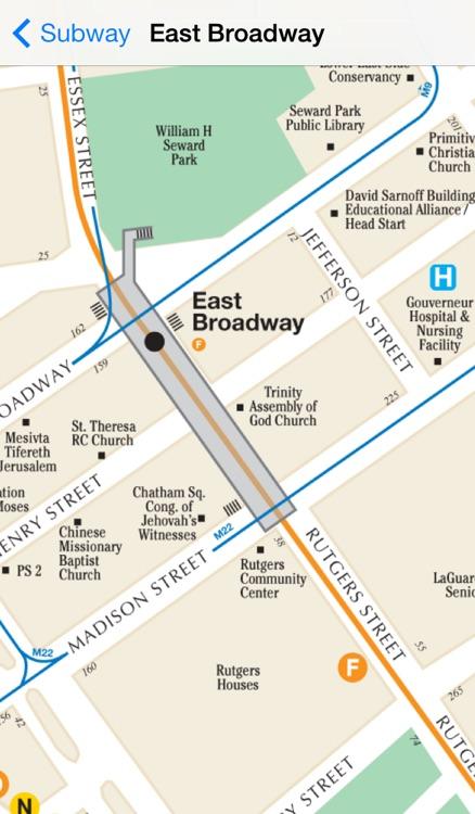 Exit Strategy NYC Subway Map screenshot-4