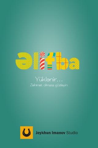 Alphabet Azerbaijan - náhled