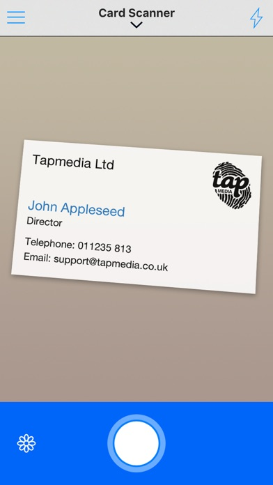 Business card reader free by tapmedia ltd tools category 21 business card reader free reheart Gallery