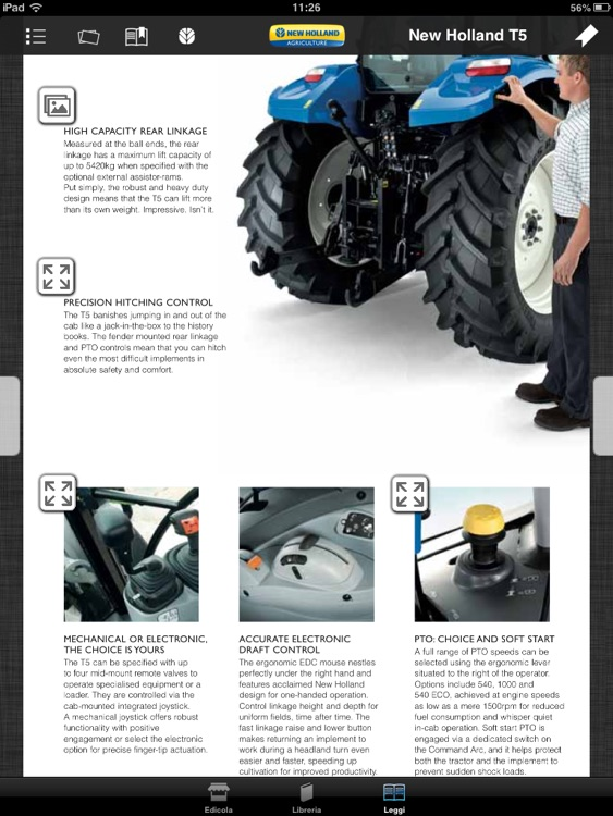 New Holland Agriculture Brochures screenshot-4