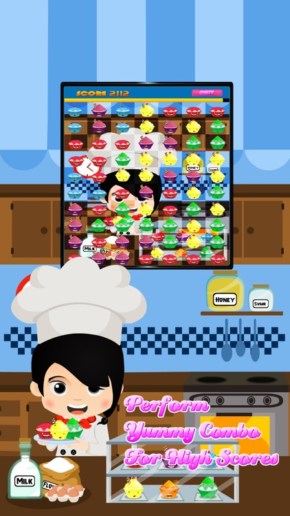 Cupcake Crush Puzzle - Play Sweet Match Game For Free