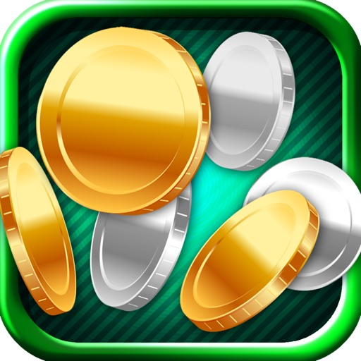 Gold Coin Match Three Free Game icon