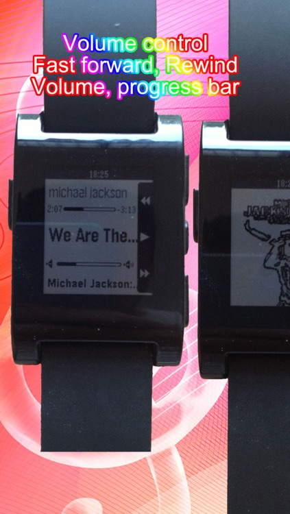 Music for Pebble Smartwatch: Remote Song Control and View screenshot-1