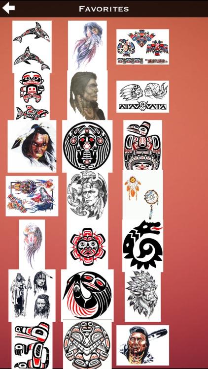 Indians Tattoos Details