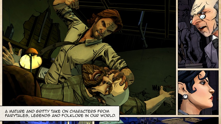 The Wolf Among Us screenshot-0