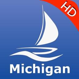 Michigan GPS Nautical charts pro