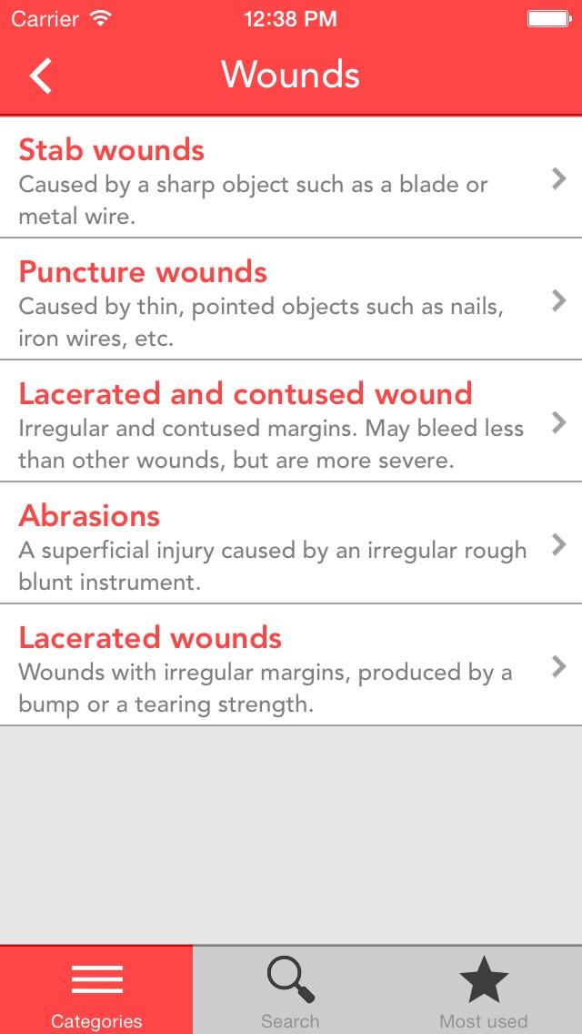 Kit di Primo Soccorso Screenshot on iOS