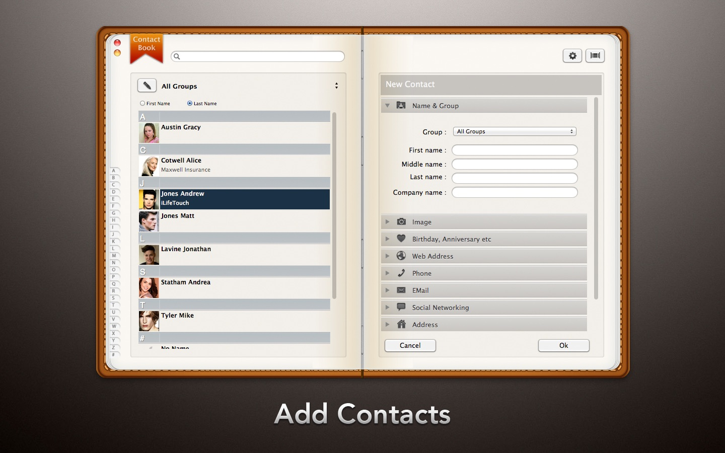 ‎Contact Book on the Mac App Store