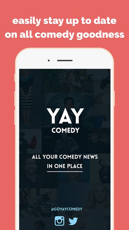 YAY Comedy News - All your comedy news in one place