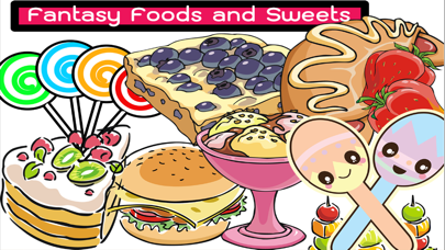 Candy And Fruits Coloring Pages And Drawing Book