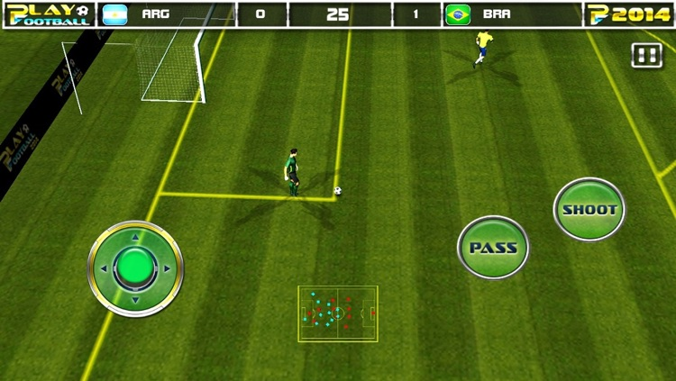 Play Football 2014 Real Soccer - Fantasy Simulation and a Comprehensive Manager Sports Game For iPhone and iPad Pro