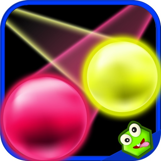 Falling Glow Dots