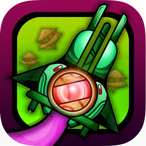 Intergalactic Alien Clash Lite - Draw your own spaceship
