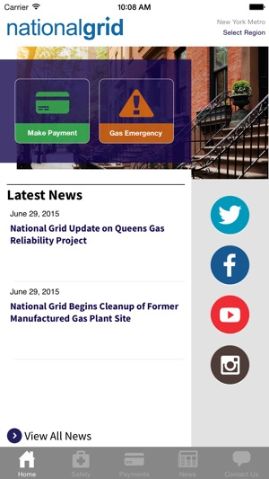 National Grid On The App Store