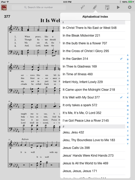 Hymnal Methodist screenshot-2
