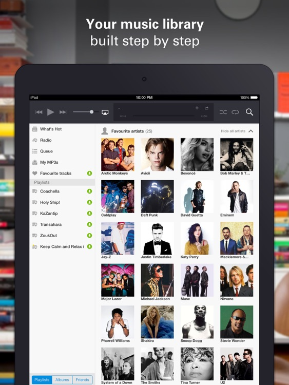 Deezer HD screenshot-3