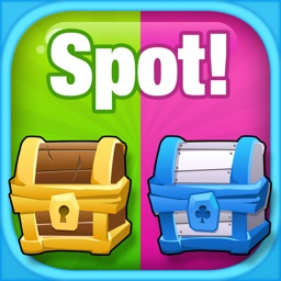 Spot the Difference! Treasure Puzzle - Kids Trivia Games