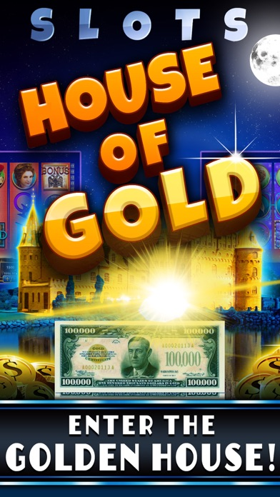 Slots House of Gold! FREE Fun Lady Luck Casino of the Rich
