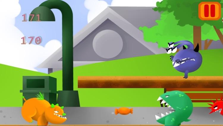 Good Monster Saga Fun Free Arcade Game for Kids screenshot-3
