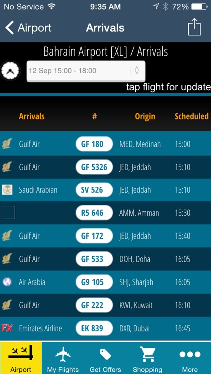 Bahrain Airport Pro (BAH) Flight Tracker Radar