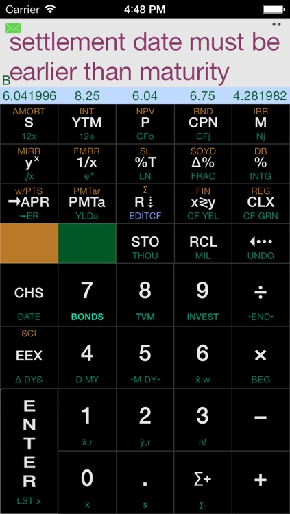 Calc-12E RPN Financial Calculator screenshot-4