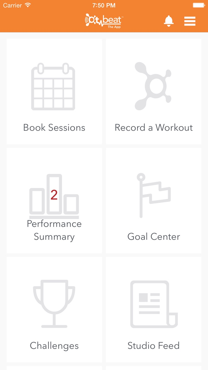 Orangetheory OTbeat Screenshot