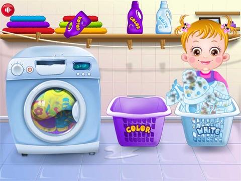 Baby Learn Washing Clothes-ipad-3