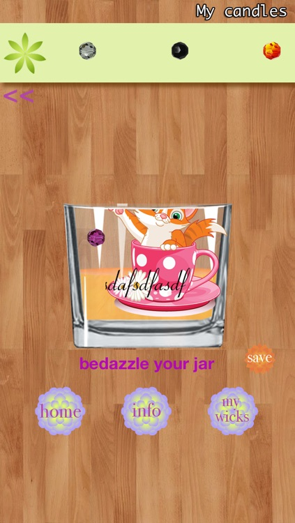 """!My Candles, with """"share"""" feature and collection of custom wicks and music. Lite screenshot-4"""