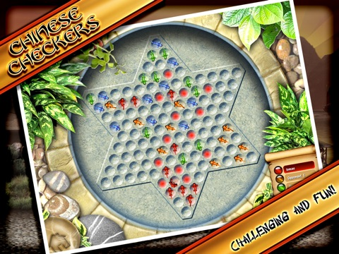 Screenshot #1 for Chinese Checkers Lite