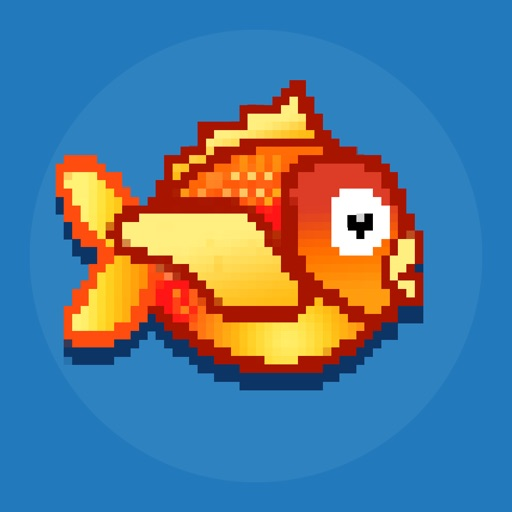 Little Flipper Fall- The Adventure of a Tiny, Flappy, Flying, Bird Fish with Splashy Birds Wings
