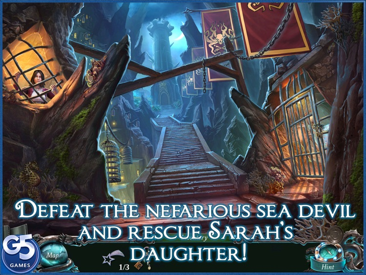 Nightmares from the Deep™: Davy Jones, Collector's Edition HD screenshot-4