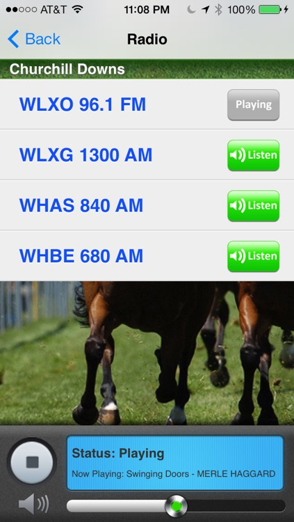avLive - Horse Racing Radio