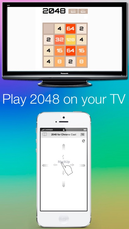 2048 for ChromeCast - The addictive puzzle Game
