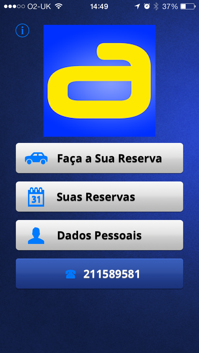 AUTOCAB PORTUGAL DEMO Screenshot