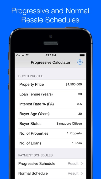Progressive Payment Calculator