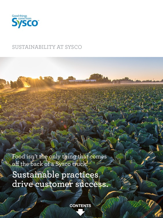 Sysco Sustainability