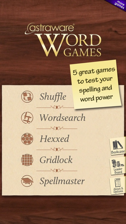 Astraware Word Games screenshot-0